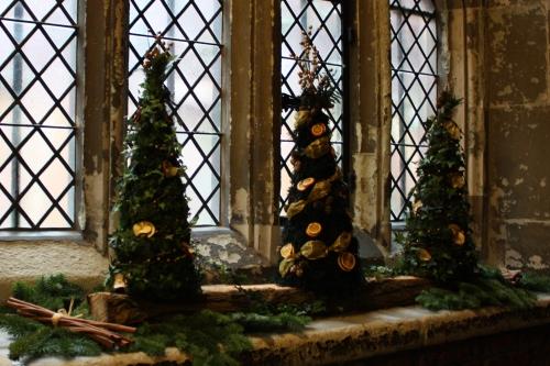Hampton Court Christmas Trees
