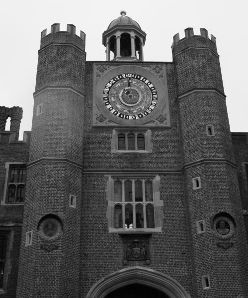 Hampton Court Clock Courtyard