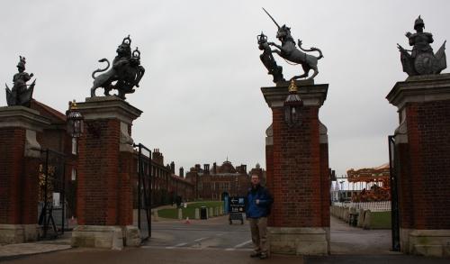 Hampton Court Entrance