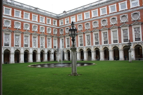Hampton Court Green Courtyard