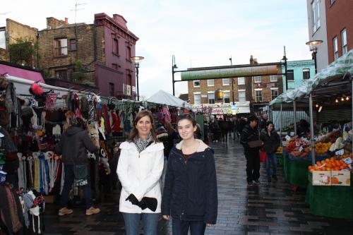 Inverness Street Market in Camden