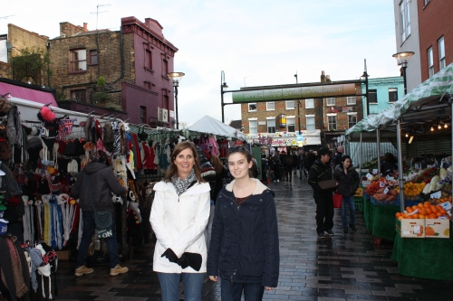 Inverness Street Market in Camden