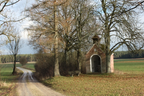 Little chapel near Kaltenbrunn