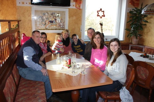 Lunch with Youngs, Gilbertsons