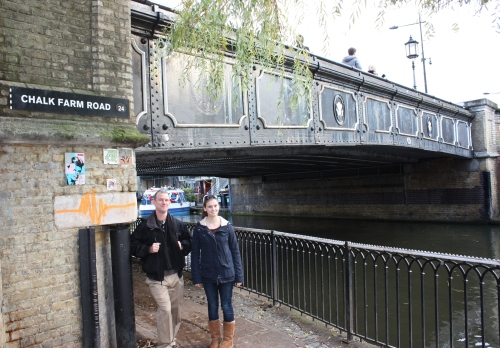 Regents Canal near Chalk Farm Road