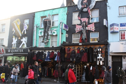 Shops on Camden High Street