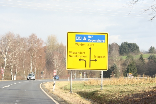 sign for Neunkirchen