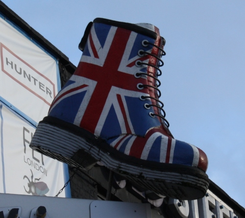 Union Jack High top