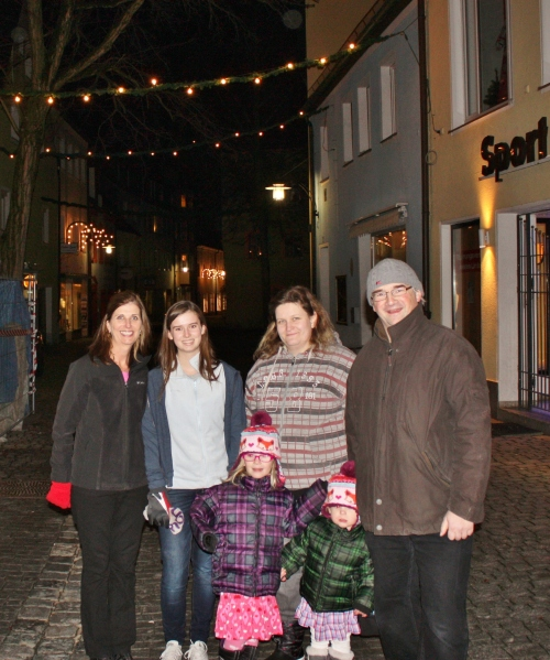 With Nadja and fam in Weiden