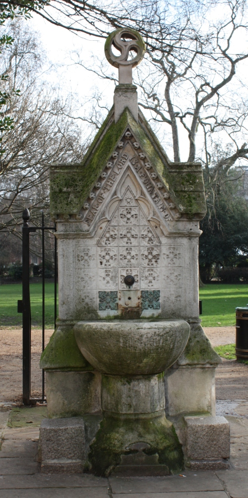 Entrance to Lincoln's Inn Fields park