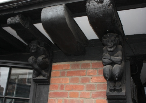 Details on 15th Century house