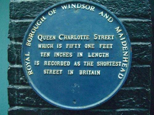 Shortest Street in Britain