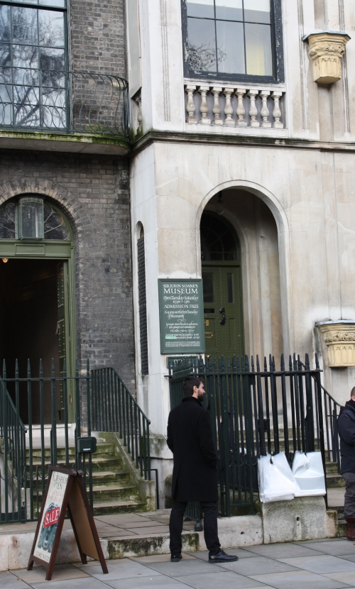 Entrance to Sir John Soane Museum