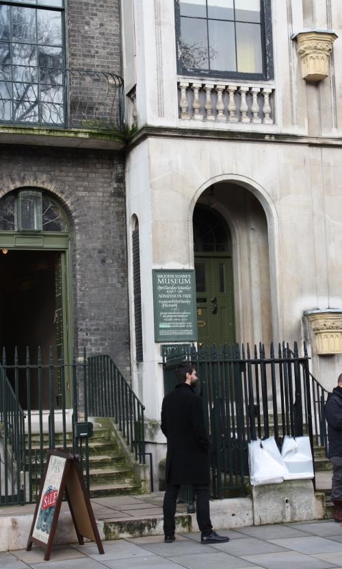 Entrance to Sir John Soane Museum