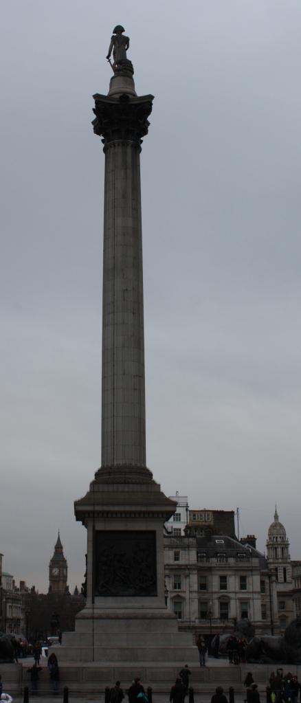 View of Big Ben from Trafalgar Square
