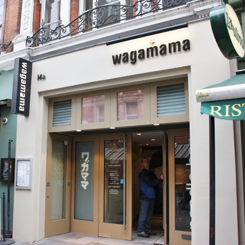 Wagamamas at Leicester Square