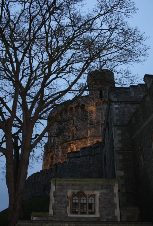 Windsor Castle at Dusk