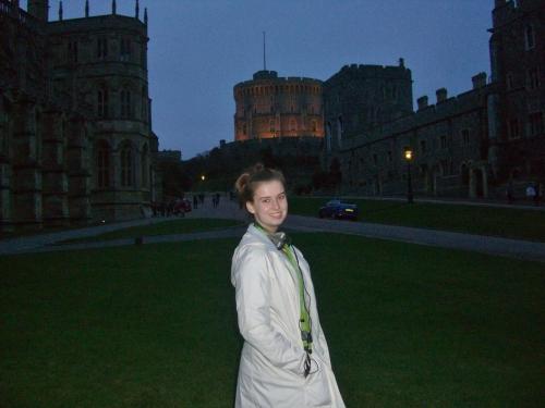 Windsor Castle Logan at Dusk