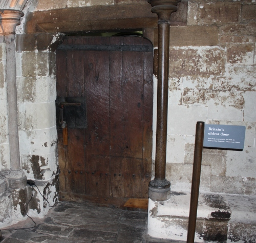 Oldest Door in the UK (Westminster Abbey) circa 1050s