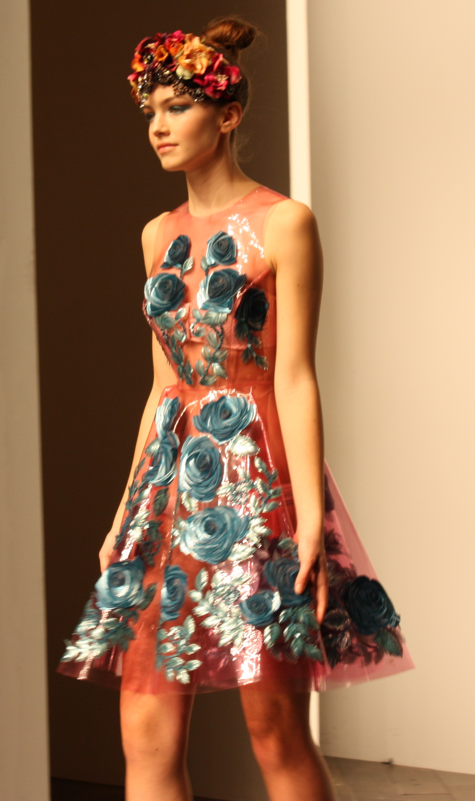 Fashion displaced beachbums for Couture house dresses