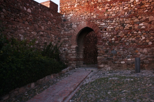 Entrance to Alcazaba