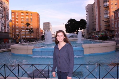 Fountain in Malaga