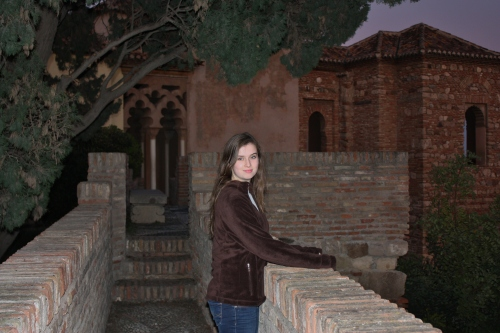 At Alcazaba
