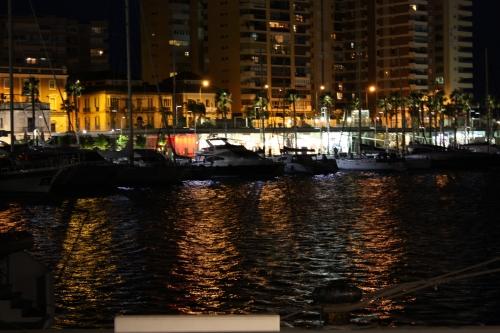 Pier in Malaga