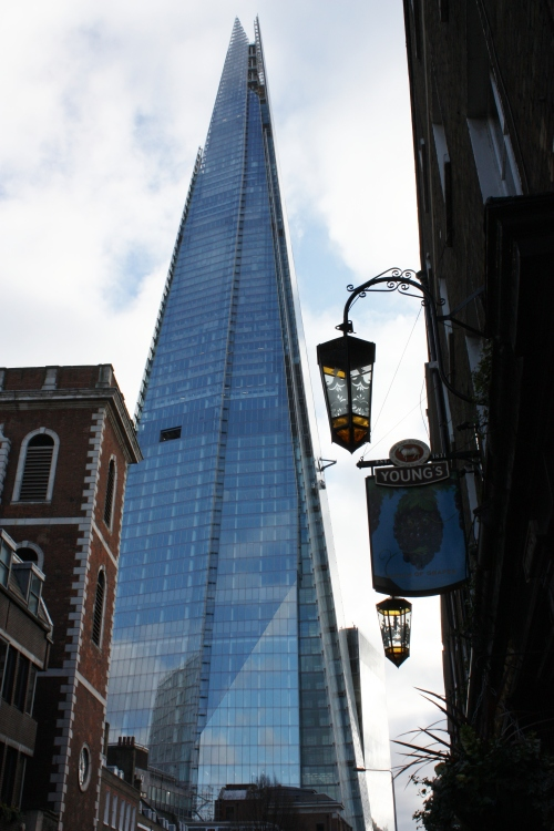 The Shard and Young's Pub (circa 1831)