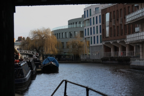 Along Regents Canal near Camden Market
