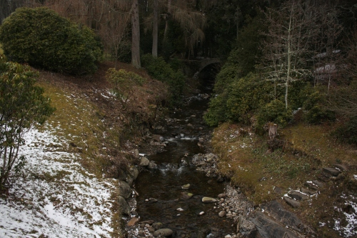 Blair River on the Blair Castle Grounds