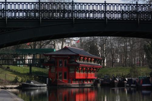 Floating Restaurant on Regents Canal