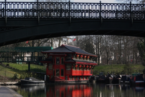Floating Restaurant on Regents Canal