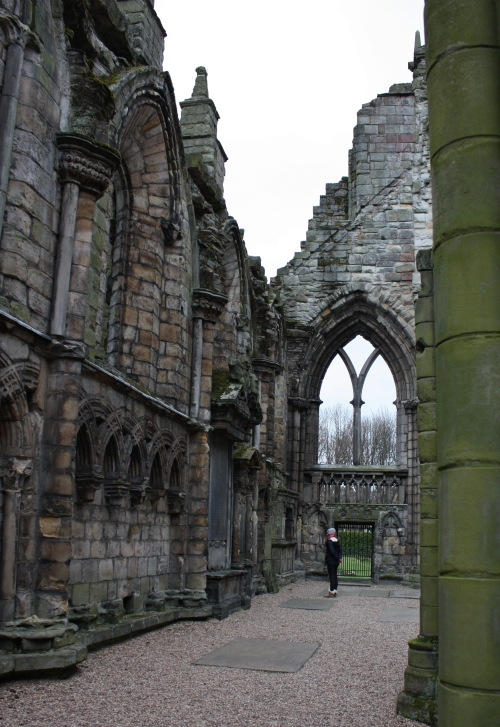 Ruins of Holyrood Palace