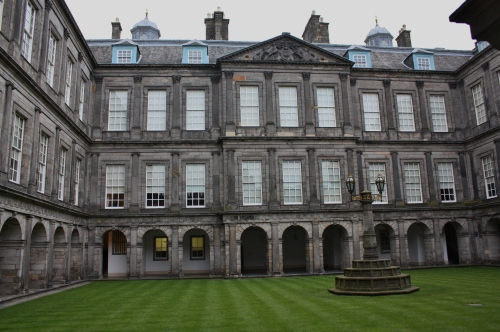The Quadrangle at Holyrood Castle