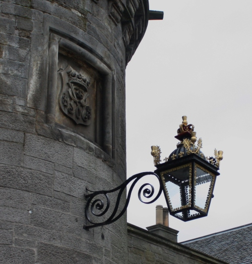 Lamp at Holyrood