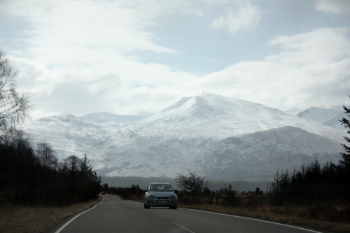 Heading Toward the Nevis Range
