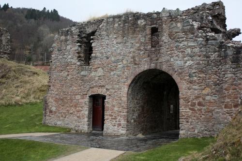 Gatehouse at Urquhart Castle