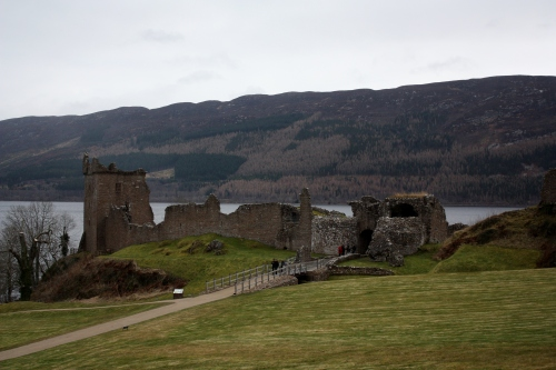 The Gorgeous Grounds of Urquhart Castle