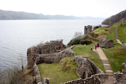 Urquhart Cstle Ruins