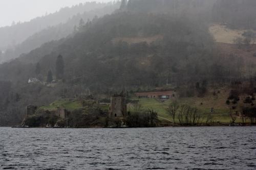 Urquhart Castle viewd from Loch Ness