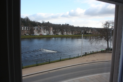 View from Room at Strathness House, Inverness