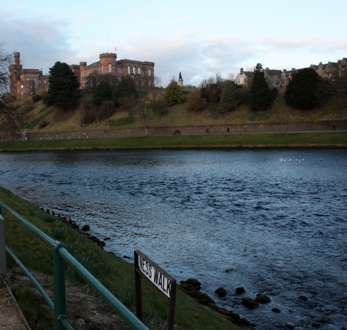 View from River of Inverness Castle
