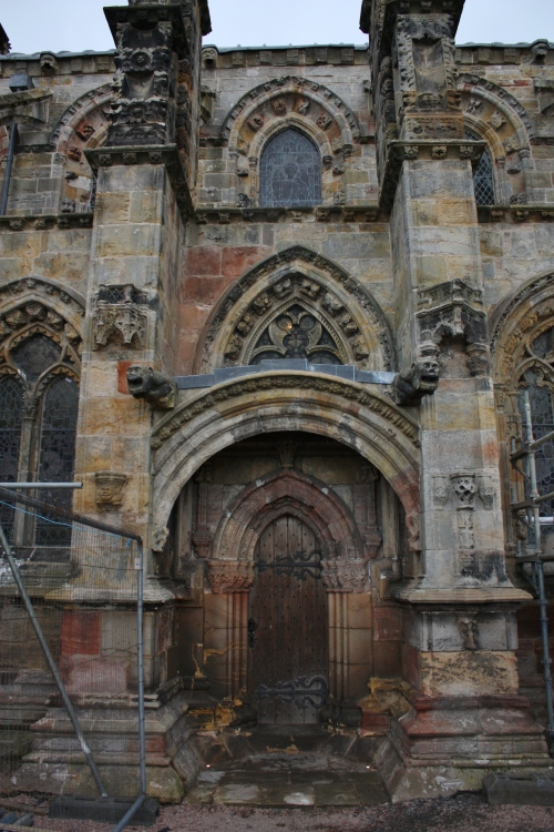 Rosslyn Chapel Back Door