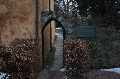 Old Rosslyn Inn entrance