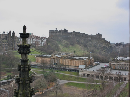 View of Castle from the Scott Monument