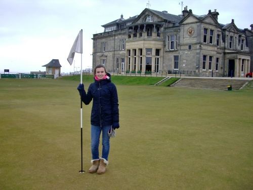 St Andrews ~ where golf was invented.