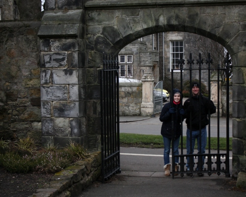 Gates at the University of St Andrews