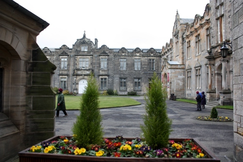 University of St Andrews quad