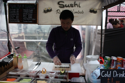 Sushi Made Fresh